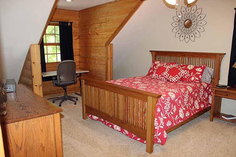 Accommodations - Upstairs Red Bedroom